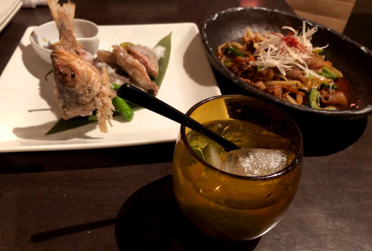 【スタッフブログ】沖縄料理食べてきました!