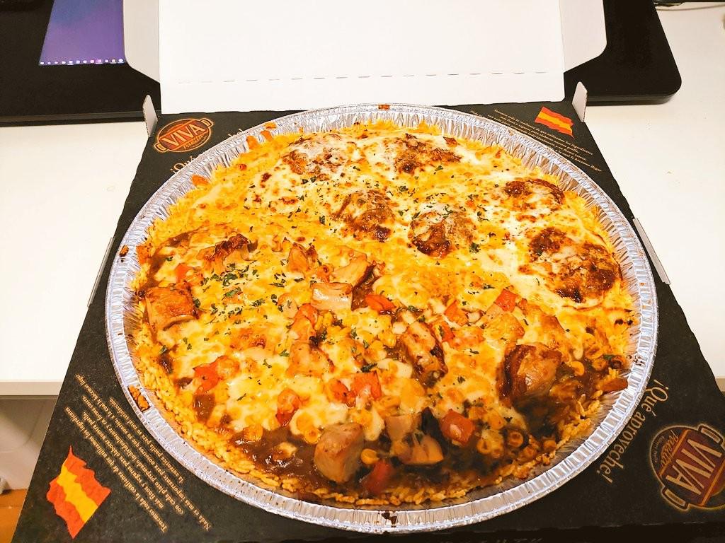 【スタッフブログ】友人と食べた「パエリア」